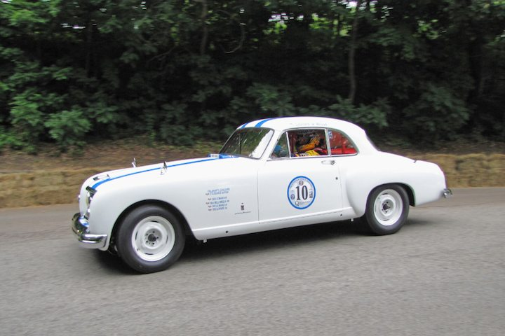 1953 Nash Healey Le Mans Coupe