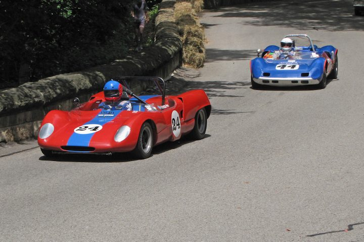 1965 Moodini Sports Racer and 1963 Elva Mk VII