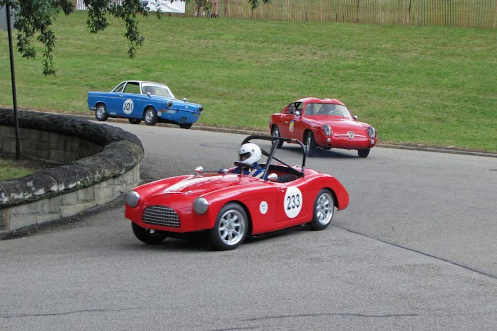 1956 Turner 803, 1959 Abarth Zagato and 1960 BMW 700 Sport