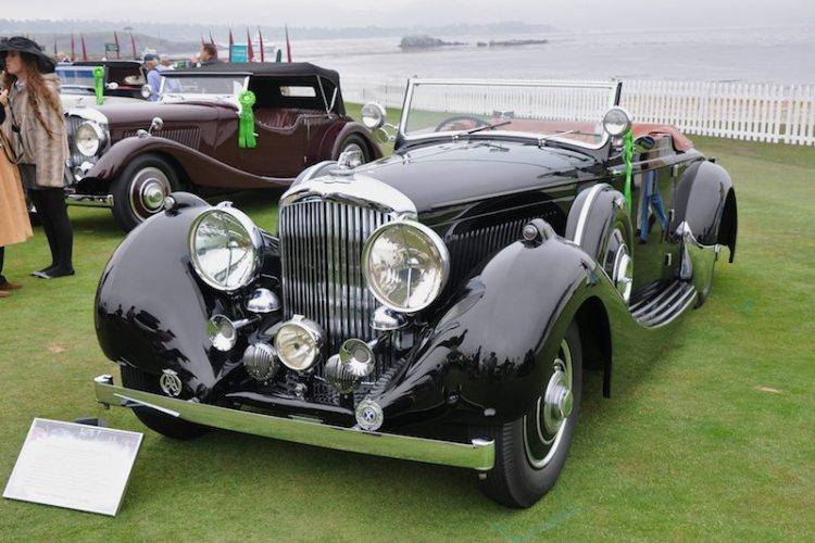 1938 Bentley 4¼ Litre Carlton Drophead Coupé
