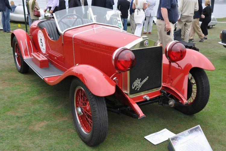 1928 Alfa Romeo 6C 1500 Zagato Spyder
