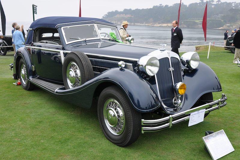 1939 Horch 853A Glaser Cabriolet