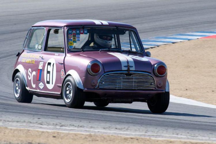 Robert Hoemke's 1965 Austin Mini Cooper.
