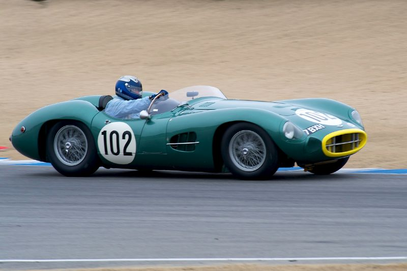 Gregory Whitten's Aston Martin DBR2.
