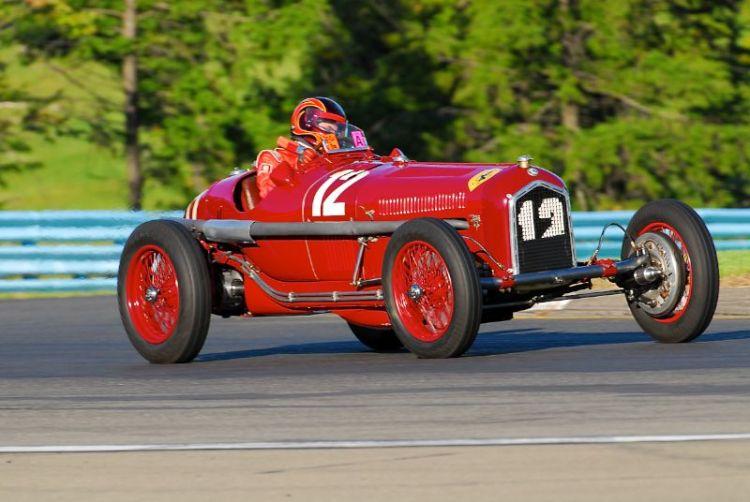 1934 Alfa Romeo P3 - Jon Shirley.