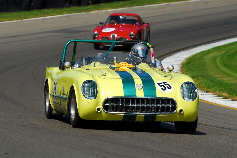 1955 Corvette- Al/Bill Schwacke.