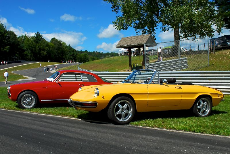 Sunday in the Park Concours at Lime Rock 2010