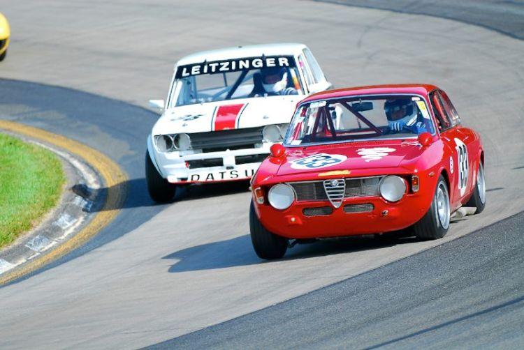 1968 AlfaRomeo GTV- Joe Cannella, #95- 1969 Datsun 510- Bob Leitzinger.