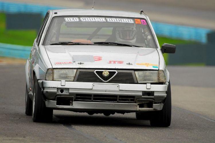 1988 Alfa Romeo Milano Verde- Melanie Mitchell.