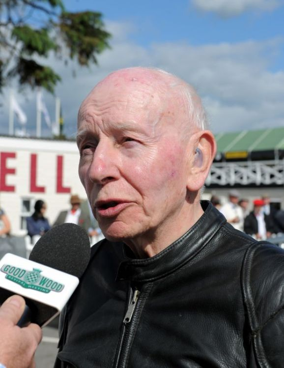 John Surtees at Goodwood Revival 2010