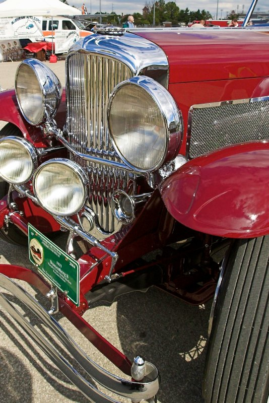 1933 Duesenberg Convertible Sedan Berline