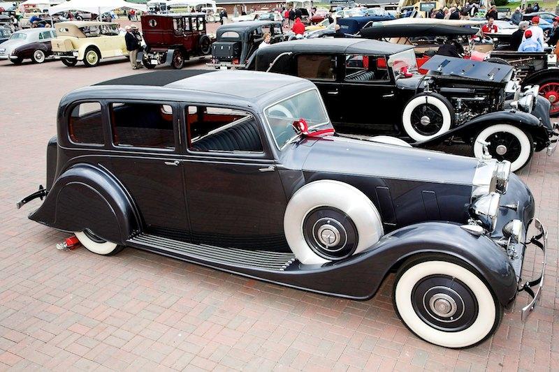 1937 Rolls-Royce Phantom III 12 cylinder