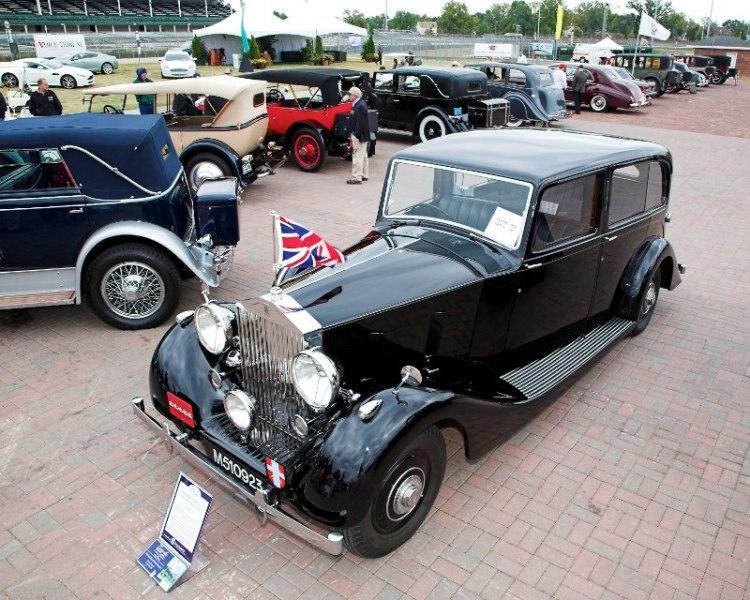 1939 Rolls- Royce Wraith Limousine