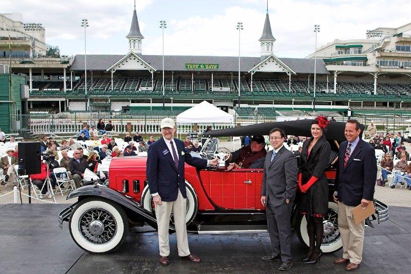 Timeless Elegance Award 1930 Willy's Knight Plaid side Phaeton Al Giddings Pray, MT