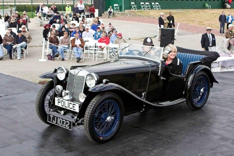Founder's Award 1933 MG L1 Magna Police Car Bill Richey Bowling Green, KY