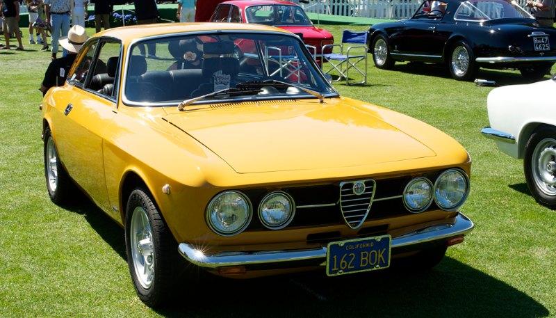 1969 Alfa Romeo GTV.