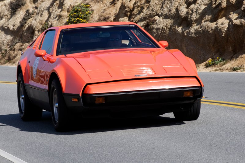 The 1975 Bricklin of Michael Verdone.