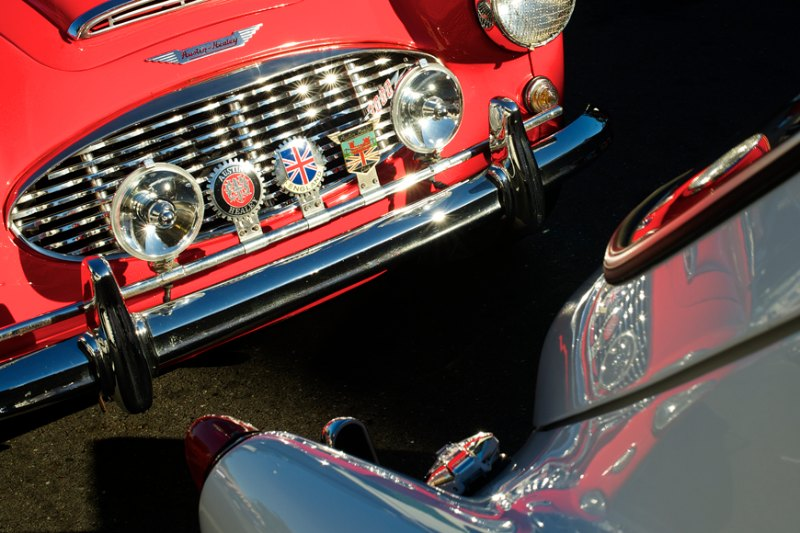 Austin-Healey 3000.