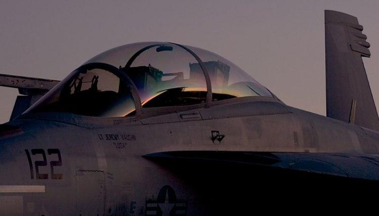 Pre-dawn F-16