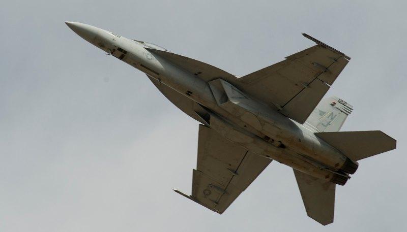 USN F/A-18 Super Hornet.
