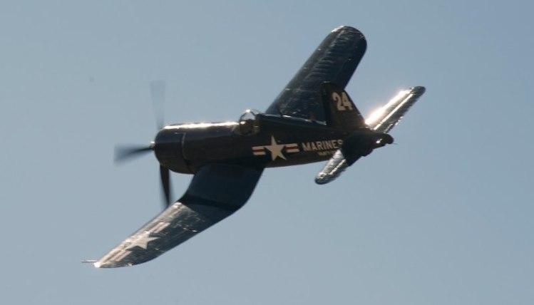Unlimited. F4U-4 Corsair. Doug Mathews.