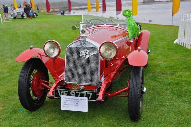 1929 Alfa Romeo 6C 1750 SS Zagato Spider, Honorable Sir Michael Kadoorie