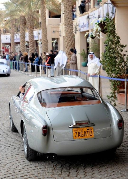 1956 Alfa Romeo 1900 Zagato Double Bubble