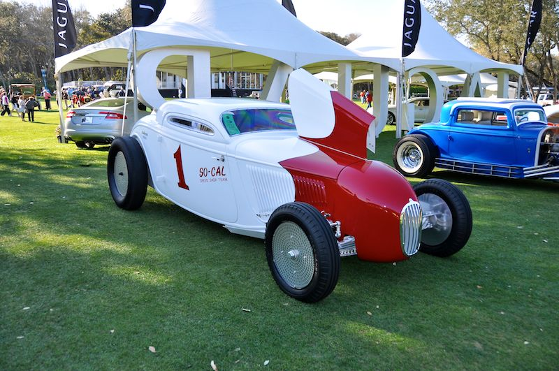 1934 So-Cal Ford Coupe - Bruce Canepa