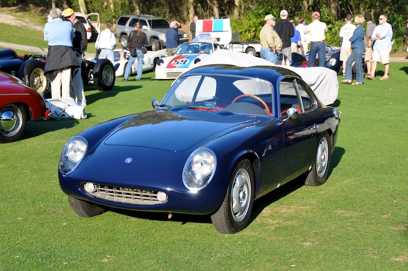 1961 OSCA 1600 GTS Zagato - James and Paula Ladwig