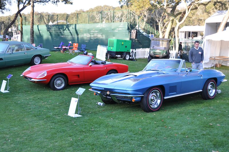 Corvette 427 Roadster and Intermeccanica Italia
