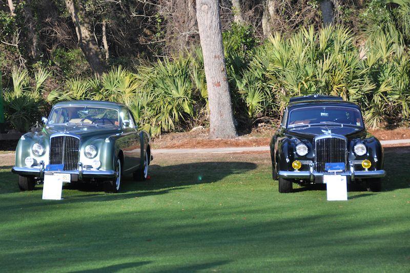 Rolls-Royce enjoy morning sun