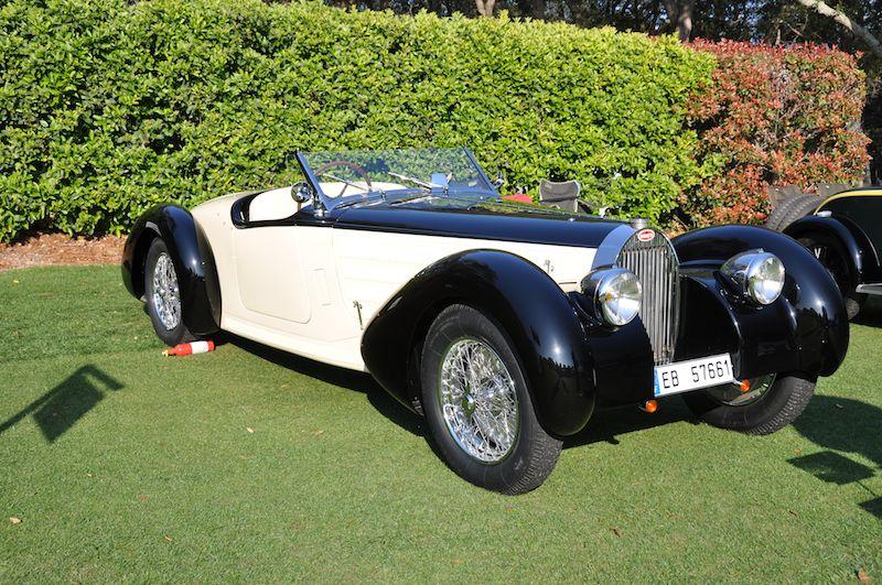 1938 Bugatti Type 57C - Richard Longes