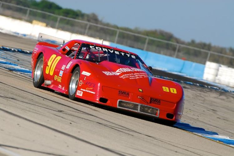 the GT1 Corvette of Jeff Bernatovich.