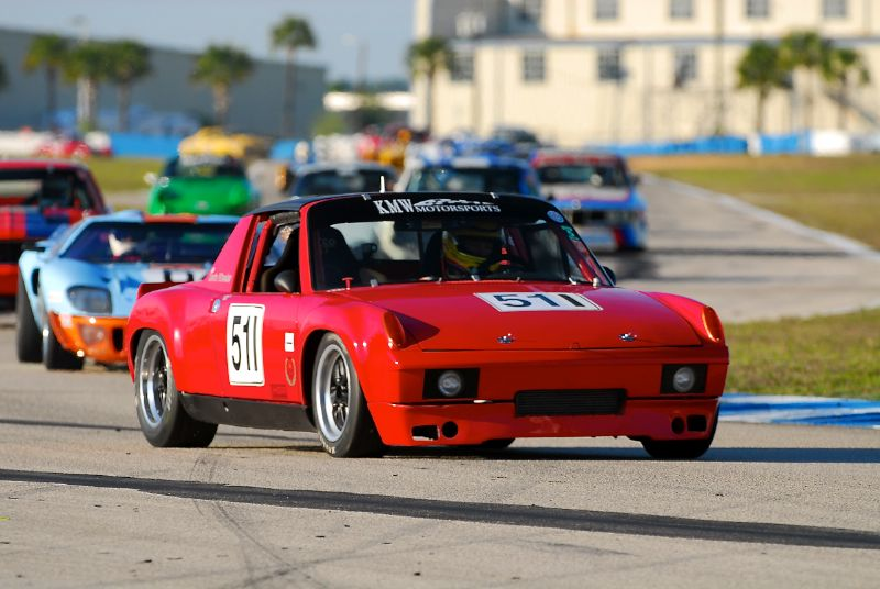 #511- 1970 Porsche 914/6 of Kevin Wheeler.