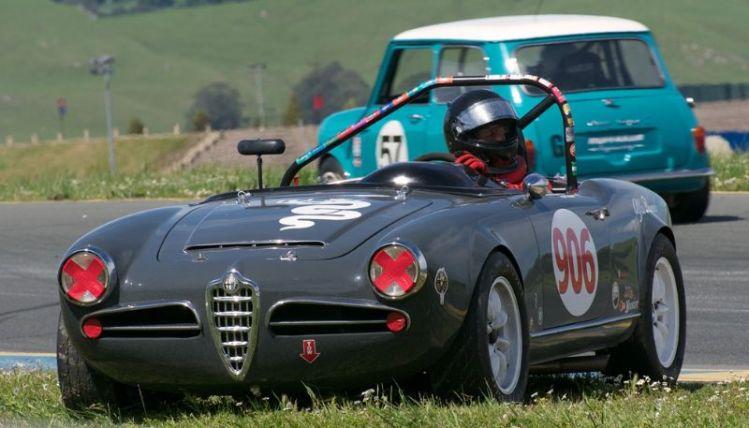 Alfa Romeo Giulietta Sprint.
