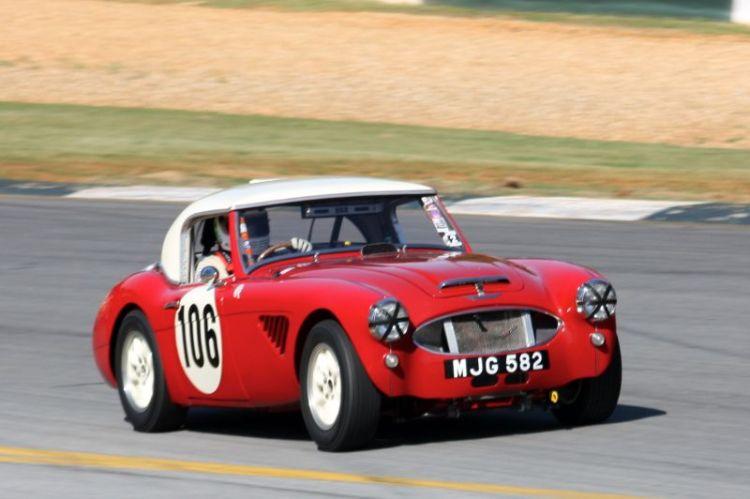Jim Gregg, 57 Austin Healey 100-6