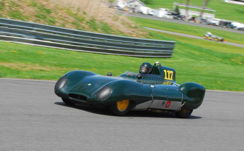 Dick Fryberger- 1959 Lotus XI.