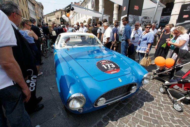 1951 Ferrari 225 S Export at Mille Miglia 2011