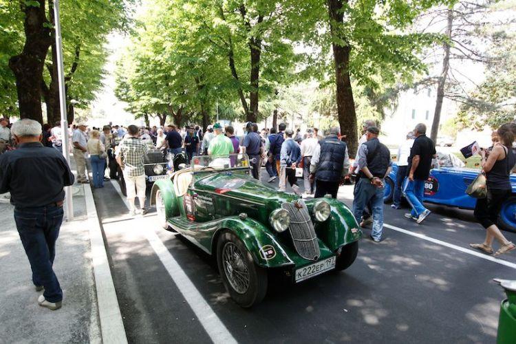 1936 Riley Sprite at Mille Miglia 2011