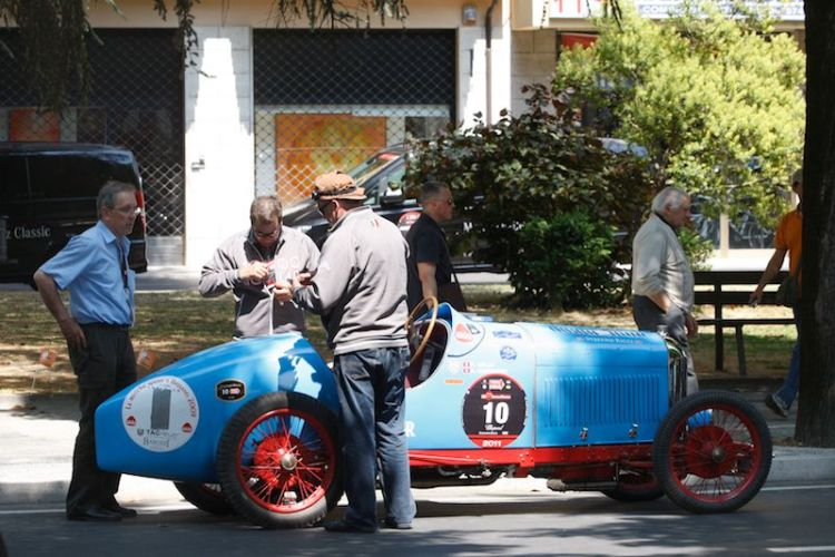 1927 Amilcar CGSS at Mille Miglia 2011