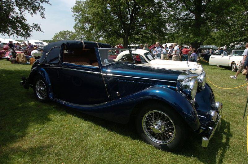 1948 Jaguar Mark IV. Mark Hansen