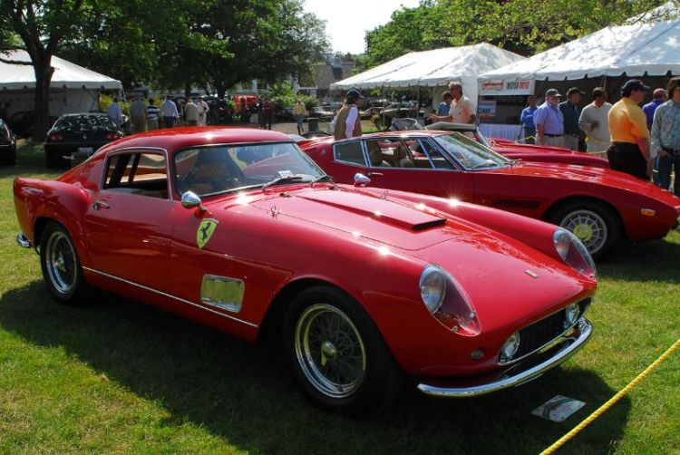 1958 Ferrari 250 Tour de France. Mark J. Davies.