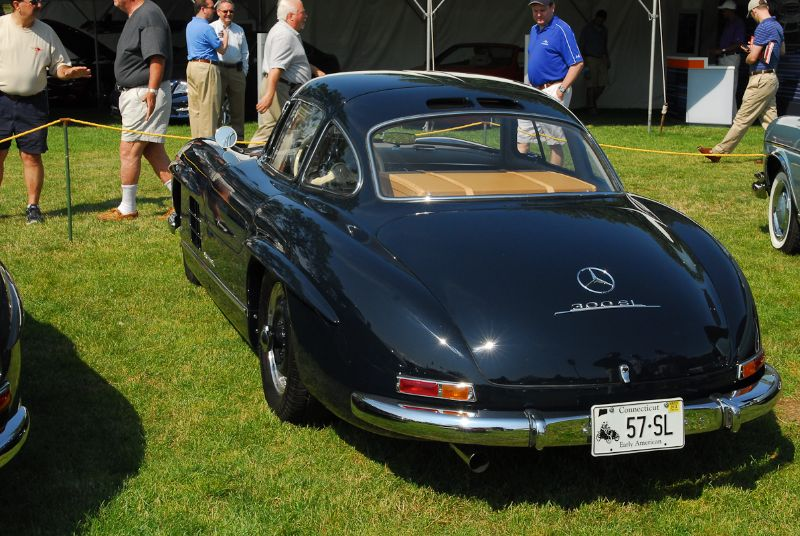 1957 Mercedes-Benz 300SL Gullwing. Henry Miller.