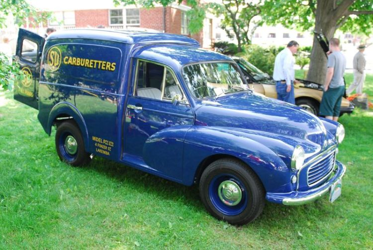 1962 Morris Minor 1/4 Ton Van. Joseph Curto.