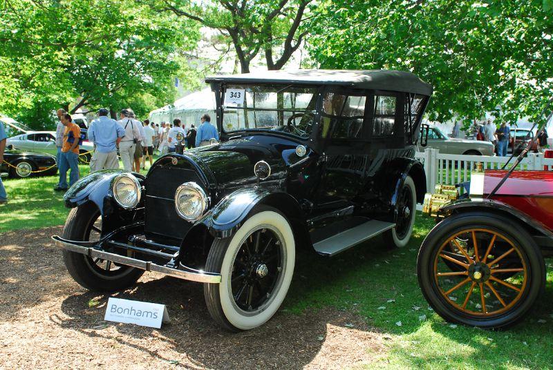 1919 Cadillac Type 57 Four-Passenger Phaeton.