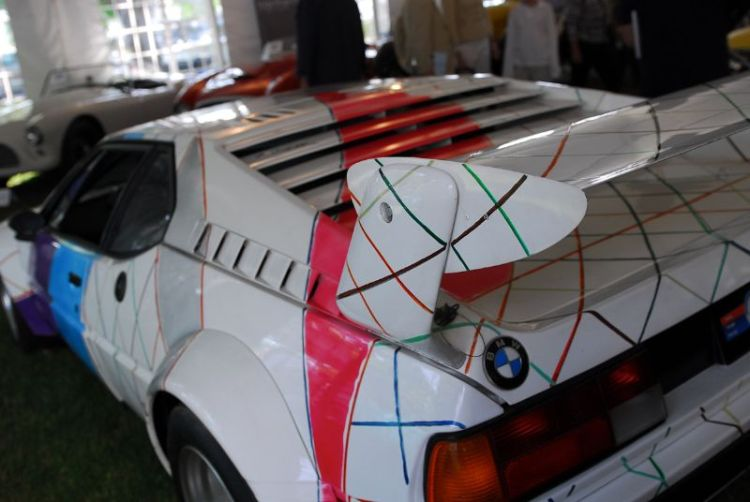 1979 BMW M1 Procar. Painted by Frank Stella.