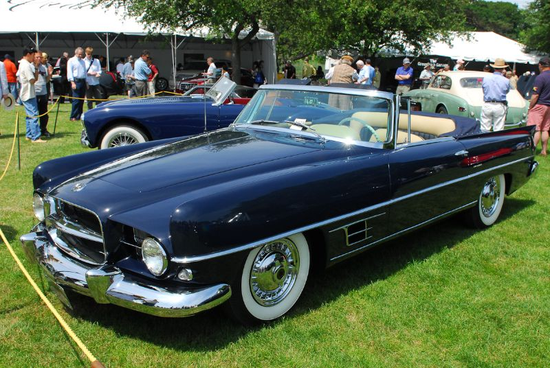 1957 Dual- Ghia - Helen Schwartz Collection.