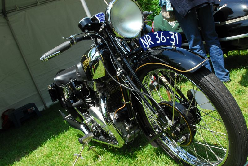 1934 Rudge Ulster. James Perman.