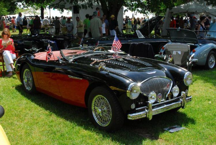 1956 Austin Healey 100M Rudi Markl.