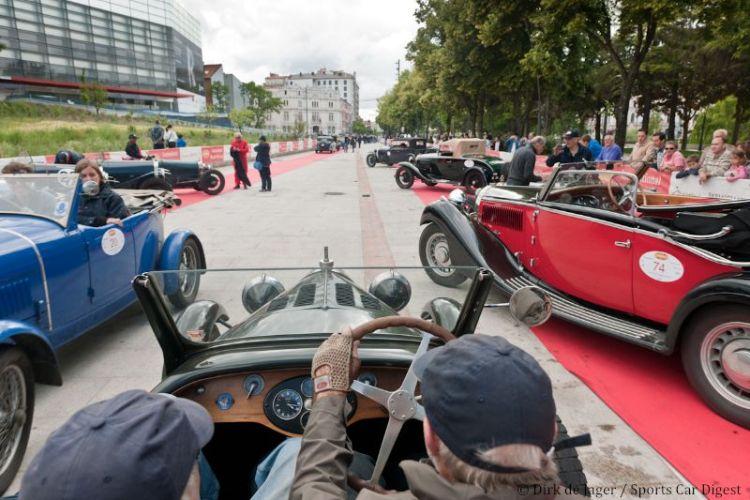 Burgos arrival in 1928 Bugatti T40GS sn 40793